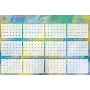 2014-2015 Blue Sky® Reflections Academic Laminated Wall Calendar, 36x24