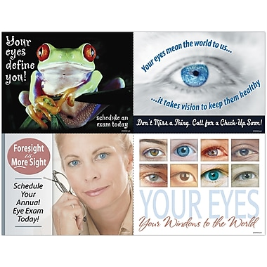MAP Brand Photo Image Assorted Laser Postcards Aging Pop Eye Care