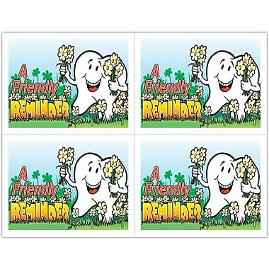 MAP Brand Smile Team Laser Postcards Daisies/Tooth