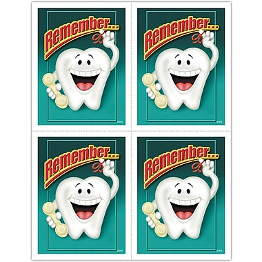 MAP Brand Smile Team Laser Postcards Tooth Reminder