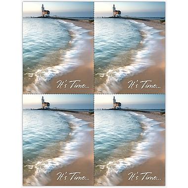 MAP Brand Scenic Laser Postcards Scenic Lighthouse
