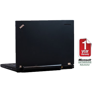 Refurbished Lenovo T400 ThinkPad 14in., 160GB Hard Drive, 4GB Memory, Intel Core 2 Duo, Win 7 Pro