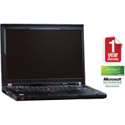 Refurbished Lenovo T400 ThinkPad 14, 160GB Hard Drive, 4GB Memory, Intel Core 2 Duo, Win 7 Home