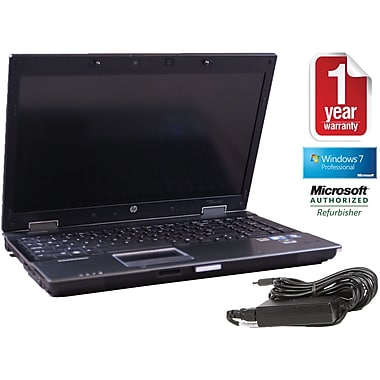 Refurbished HP 8540W 15.5in., 300GB Hard Drive, 4GB Memory, Intel Core i7, Win 7 Pro