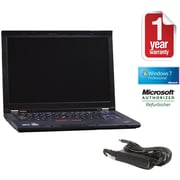 Refurbished Lenovo T410S 14.1, 250GB Hard Drive, 4GB Memory, Intel Core i5, Win 7 Pro
