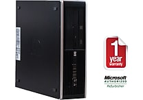 HP 8000 SFF, 1TB Hard Drive, 4GB Memory, Intel Core 2 Duo, Win 7 Pro Refurbished