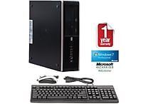 Refurbished HP 8000 SFF, 1TB Hard Drive, 4GB Memory, Intel Core 2 Duo, Win 7 Pro