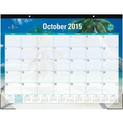 2015 Blue Sky® Endless Summer Desk Calendar, 22x17