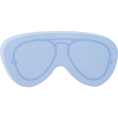Post-it® Super Sticky Notes, Sunglasses Shape, Aviator Design,  3in.x3, Blue