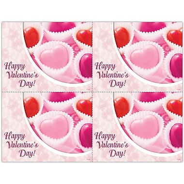 MAP Brand Photo Image Laser Postcards Valentine's Day