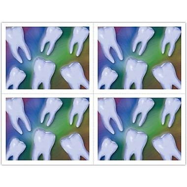 MAP Brand Graphic Image Laser Postcards Teeth Photo