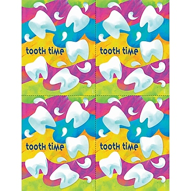 MAP Brand Graphic Image Laser Postcards Tooth Time Waves