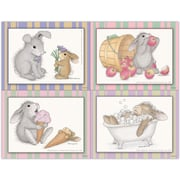 MAP Brand Happy Hoppers Assorted Laser Postcards Ice Cream