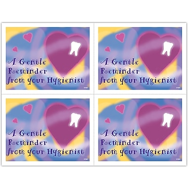 MAP Brand Hygienist Laser Postcards Heart