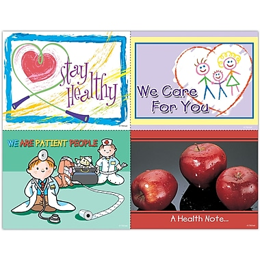 MAP Brand Graphic Image Assorted Laser Postcards Apples