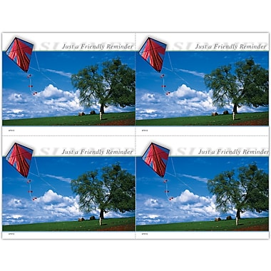 MAP Brand Scenic Laser Postcards Summer Kite