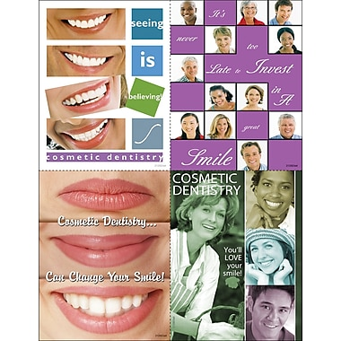 MAP Brand Photo Image Assorted Laser Postcards Seeing is believing, You'll Love Your Smile