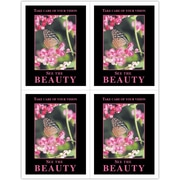 MAP Brand Scenic Laser Postcards Beauty/Butterfly