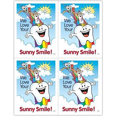 MAP Brand Smile Team Laser Postcards Smile Team, Rainbow