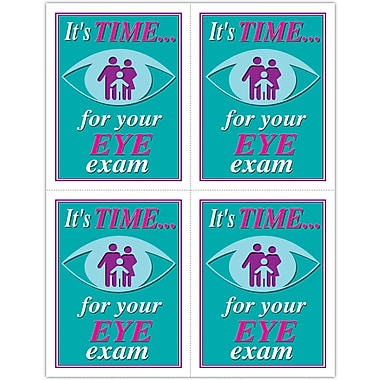 MAP Brand Graphic Image Laser Postcards Eye Graphic Family