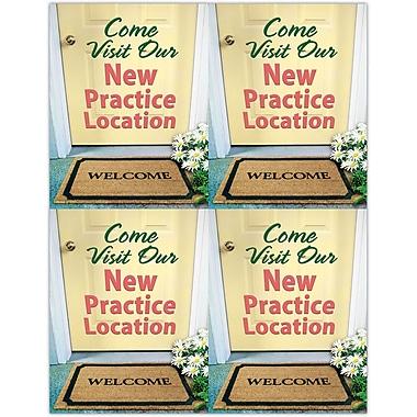 MAP Brand Scenic Laser Postcards Doormat
