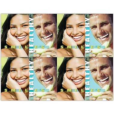 MAP Brand Graphic Image Laser Postcards Healthy Smiles