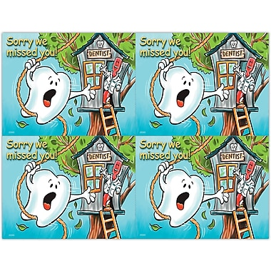 MAP Brand Smile Team Laser Postcards Tooth Swinging