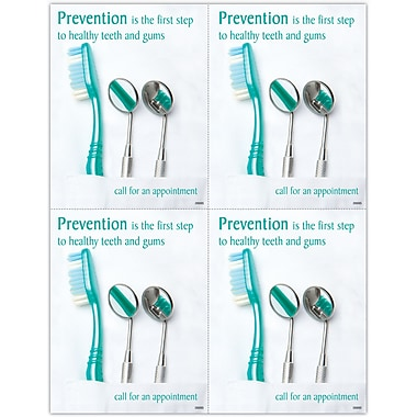 MAP Brand Preventive Laser Postcards Dental Tools