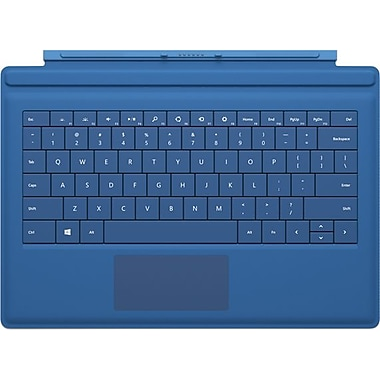 Microsoft Surface Pro Type Cover, Cyan, For Surface Pro 3