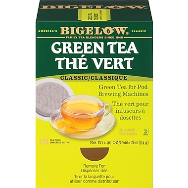Bigelow Green Tea Pods 18/pack