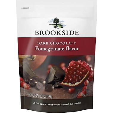 Brookside Dark Chocolate Pomegranate Flavor Pouch, 21 oz. / 2 CT.