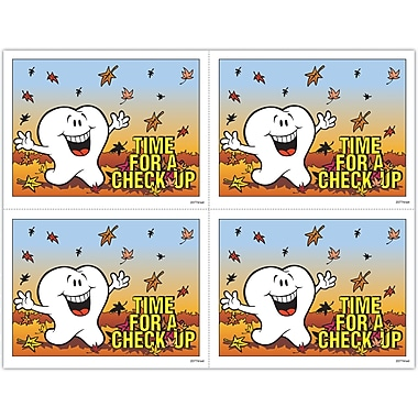 MAP Brand Toothguy Laser Postcards Autumn Leaves