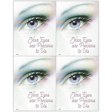 MAP Brand Photo Image Laser Postcards Eyes Are Precious