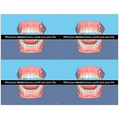 MAP Brand General Health Laser Postcards Dental knowledge