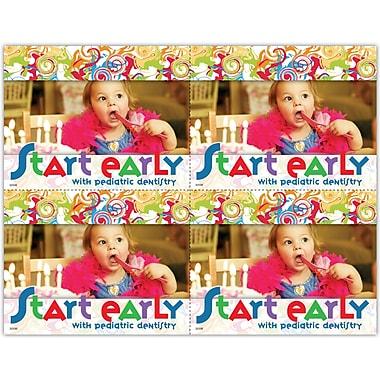 MAP Brand Pediatric Dentistry Laser Postcards Start Early