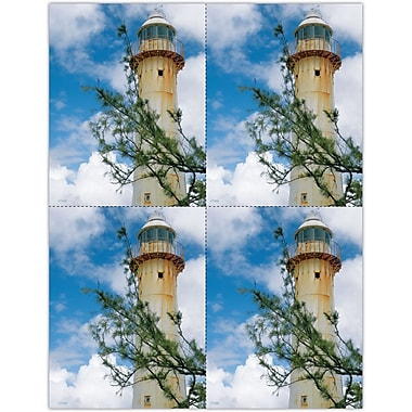 MAP Brand Photo Image Laser Postcards Lighthouse Branch