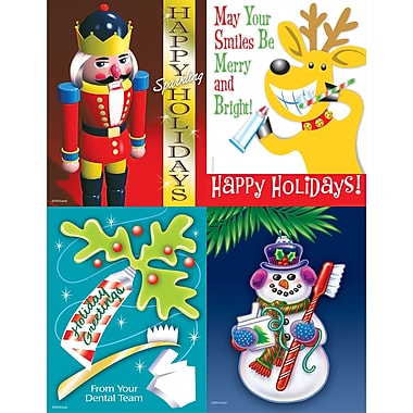 MAP Brand Seasonal Assorted Laser Postcards Toy Soldier