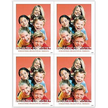 MAP Brand Pediatric Dentistry Laser Postcards Pyramid