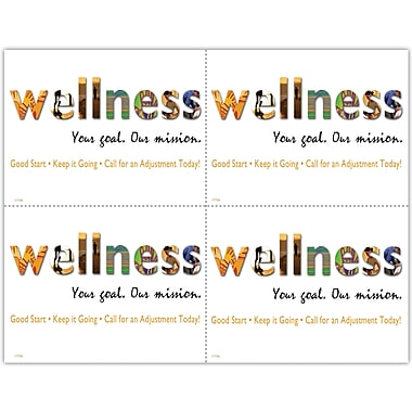 MAP Brand Maintenance Laser Postcards Wellness