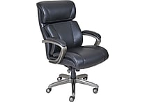 La-Z-Boy Nexus Bonded Leather Executive Chair, Black