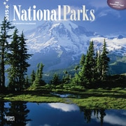 2015 BrownTrout Publishers National Parks Monthly Wall Calendar, 12 x 12