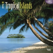 2015 Tropical Islands Wall Calendar, 12 x 12