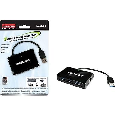 Diamond USB303HE Superspeed USB 3.0 3-Port