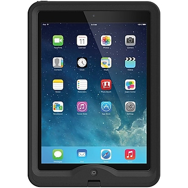 LifeProof nuud iPad Air Case, Black, 1901-01