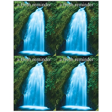 MAP Brand Scenic Deluxe Laser Postcards A Fresh Reminder