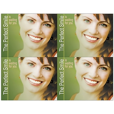 MAP Brand Photo Image Laser Postcards Perfect Smile Waiting