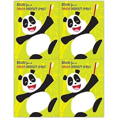 MAP Brand Pediatric Dentistry Laser Postcards Panda, Perfect Smile