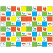 MAP Brand Graphic Image Laser Postcards Primary Color Dental Icon Grid