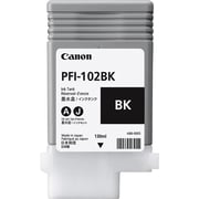 Canon PFI-102BK Black Ink Cartridge (0895B001)
