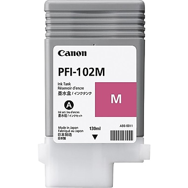 Canon PFI-102M Magenta Ink Cartridge (0897B001)